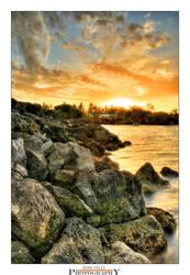 Mauritius Sunset by Furiousxr