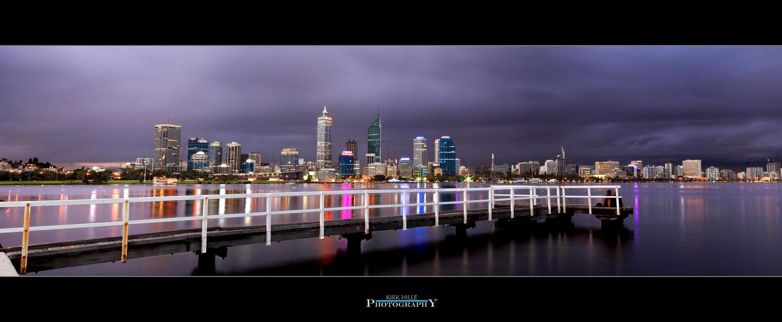 Stormy Perth Night by Furiousxr