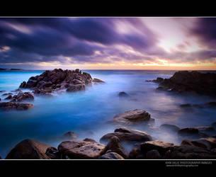 Injidup Beach Long Exposure by Furiousxr