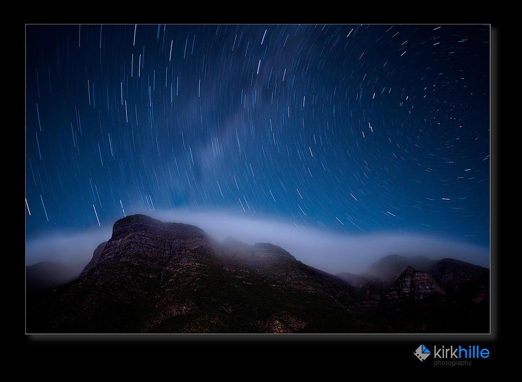 Bluff Knoll Star Trail by Furiousxr
