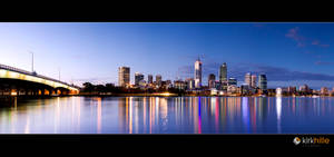 Perth Skyline Night