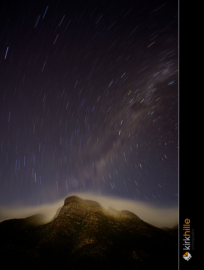 Bluff Knol Star Trails by Furiousxr