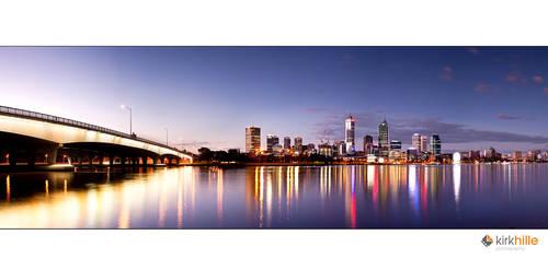 Old Perth Skyline by Furiousxr