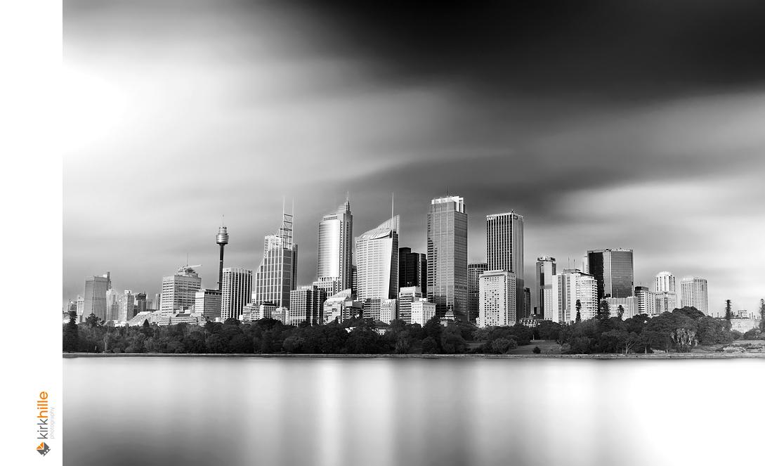 Sydney Skyline Long Exposure by Furiousxr