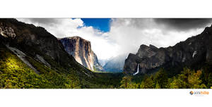 Yosemite Tunnel View by Furiousxr