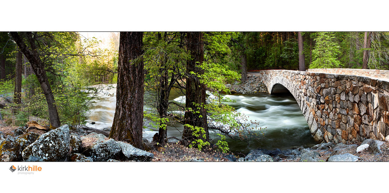 Yosemite Bridge by Furiousxr