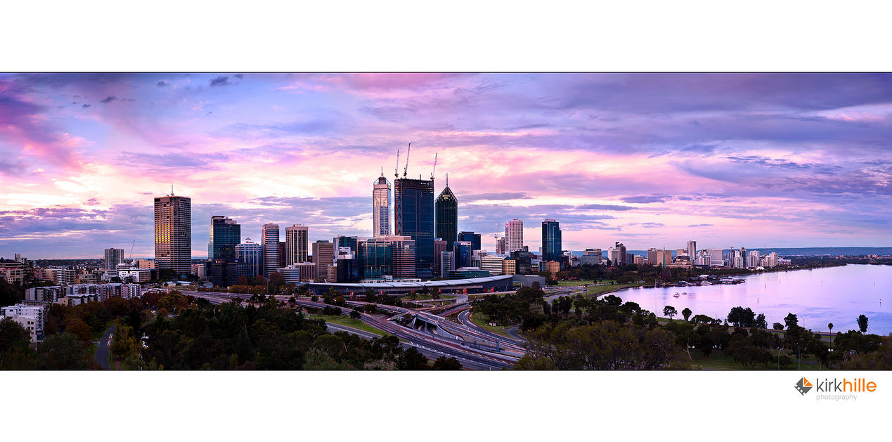 Perth Skyline by Furiousxr
