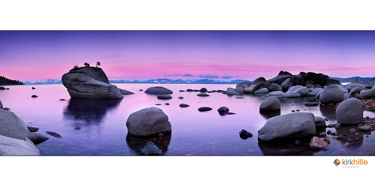 Lake Tahoe IIII by Furiousxr