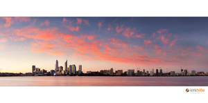 Perth Skyline Sunset