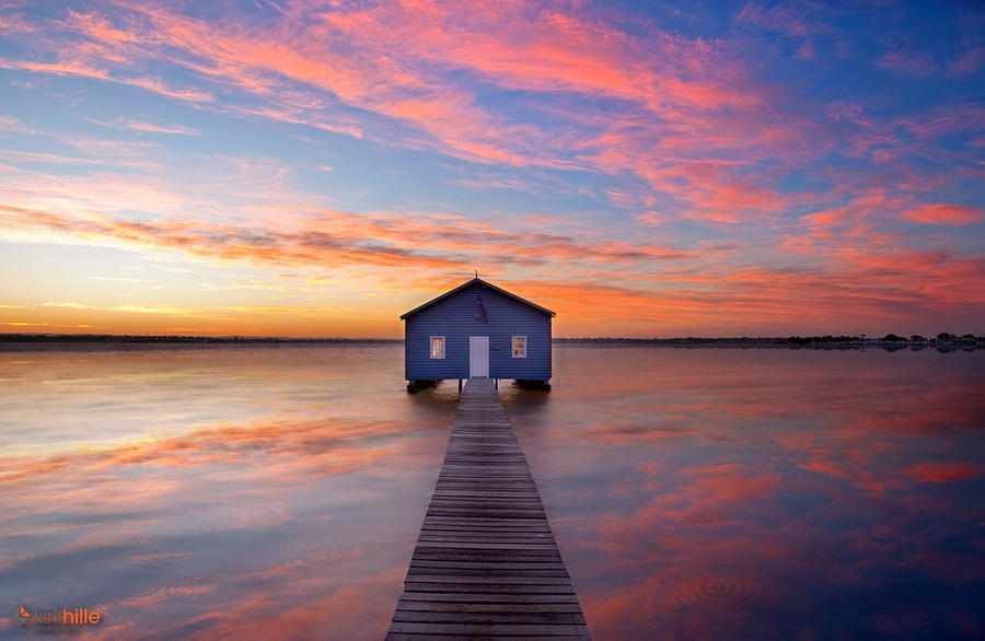 Matilda Bay Sunrise II by Furiousxr