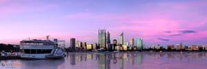 New Perth Skyline by Furiousxr