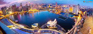 Marina Sands View of Singapore