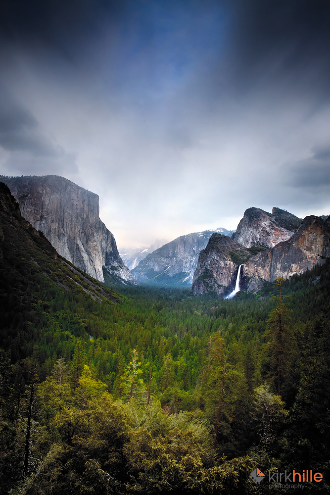 Yosemite Tunnel View II by Furiousxr