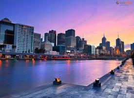 Melbourne Sunrise by Furiousxr