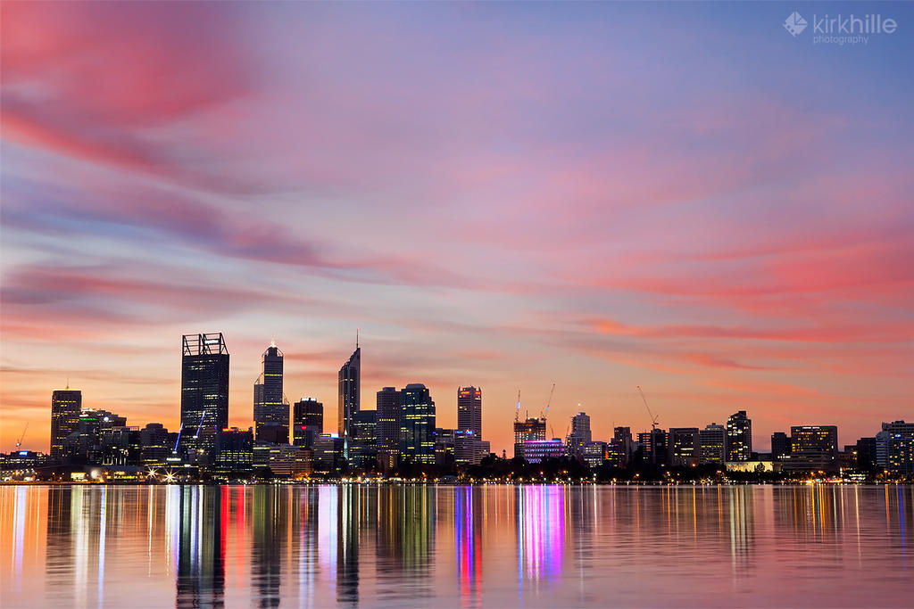 Perth Sunset - 2014 by Furiousxr