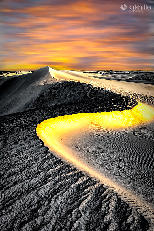 Lancelin Sand Dunes  - Sky Drop by Furiousxr