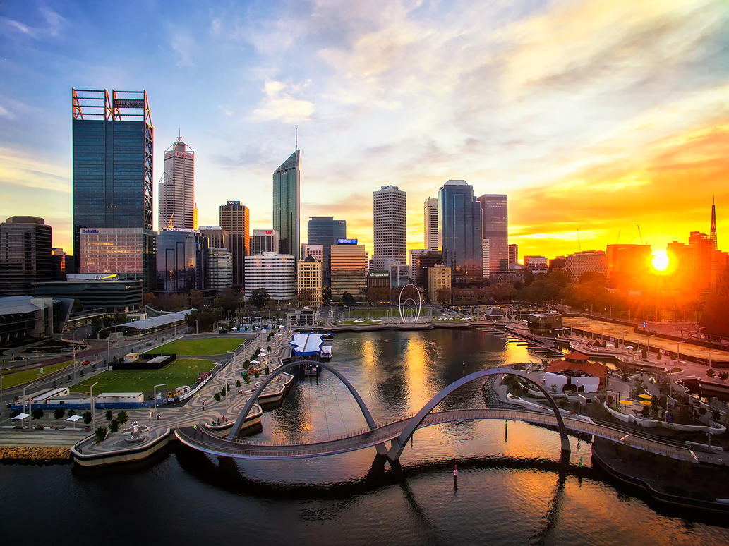 Perth City Colours by Furiousxr