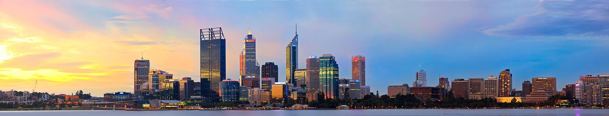 Perth Skyline by Furiousxr