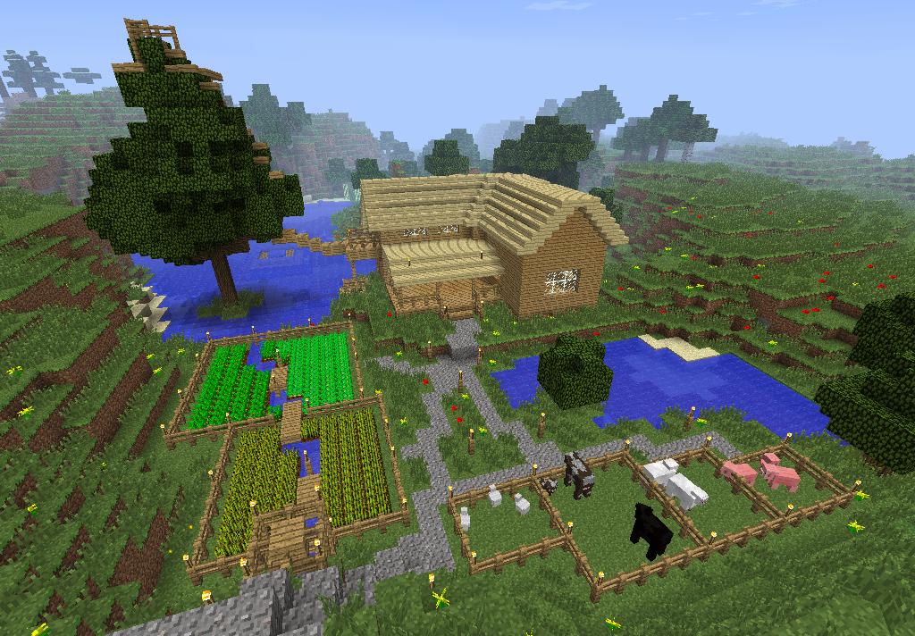minecraft how to make farm animals spawn