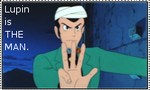 Lupin is THE MAN_STAMP by FilmmakerJ