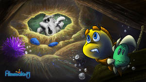 Freddi Fish 2 - The Ghost is Right Above Us by FilmmakerJ