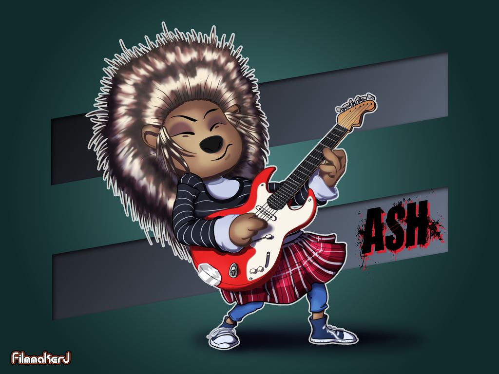 Ash the Porcupine - SING by FilmmakerJ