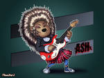 Ash the Porcupine - SING