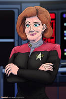 Captain Janeway - A Personal Hero by FilmmakerJ