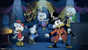 DuckTales Voiceover Project - Splash Screen
