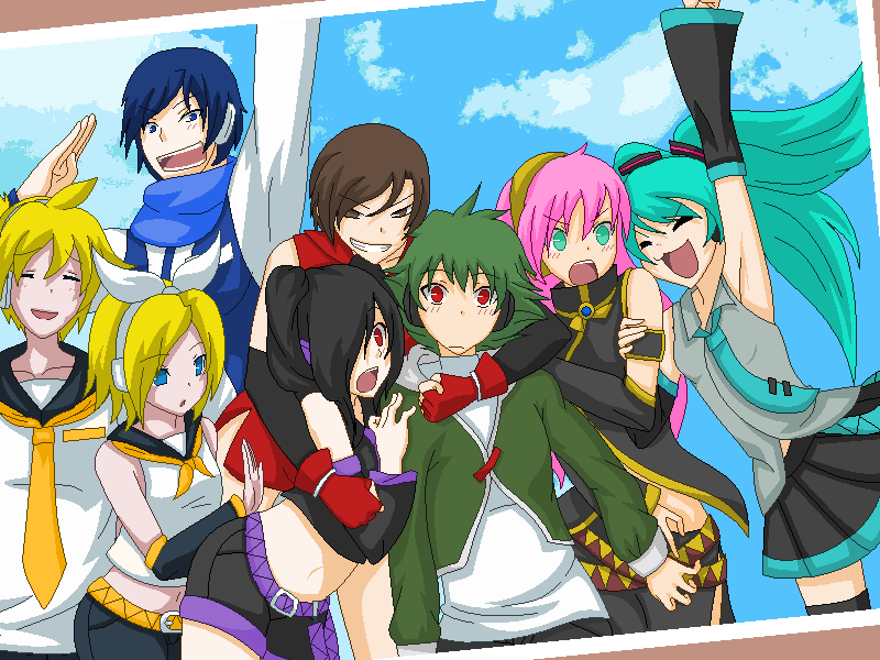 vocaloid group by artistofdarkness on deviantart