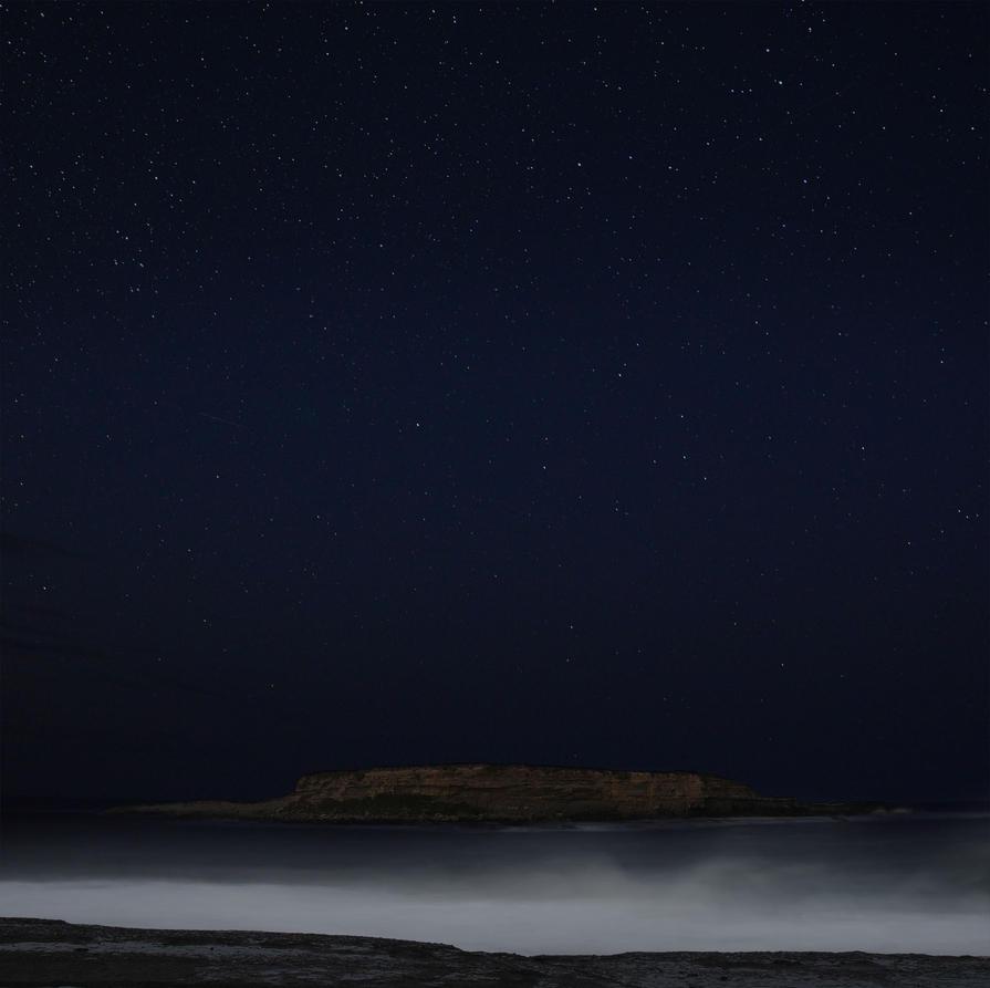 Durras Island Night by Rhyton