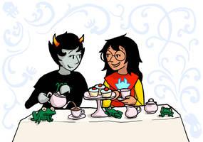 HS: Jade and Kanaya take tea by sqbr