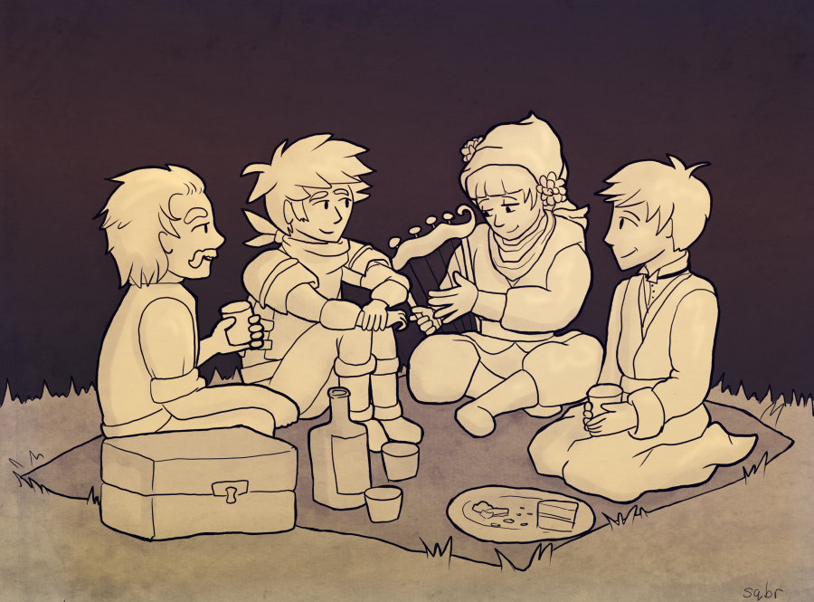 Bastion: Domestic Scene by sqbr