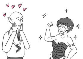 Dragon Age Inquisition: I like your muscles by sqbr