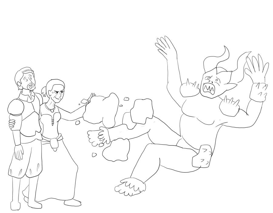 DAO: Stone Fist Wynne by sqbr