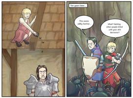 DAI: Meeting the Hero of River Dane by sqbr
