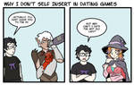 Why I don't self insert in dating games
