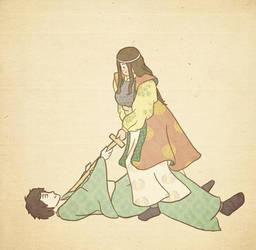 Komatsuhime and Nobuyuki