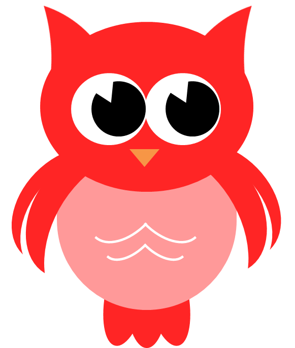 Red Owl Clip Art – Cliparts