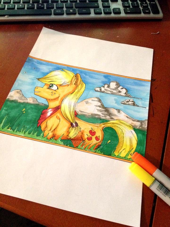Summer Horse by AceGekko