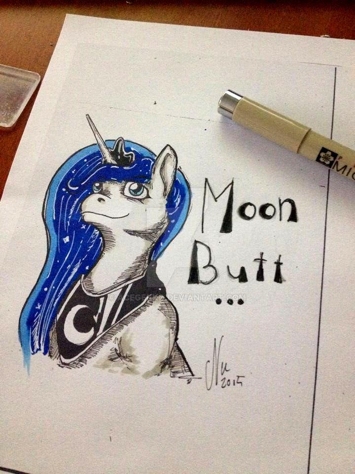 Moon_Butt_Mini by AceGekko