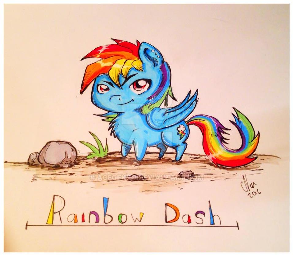 Rainbou Darsh! by AceGekko