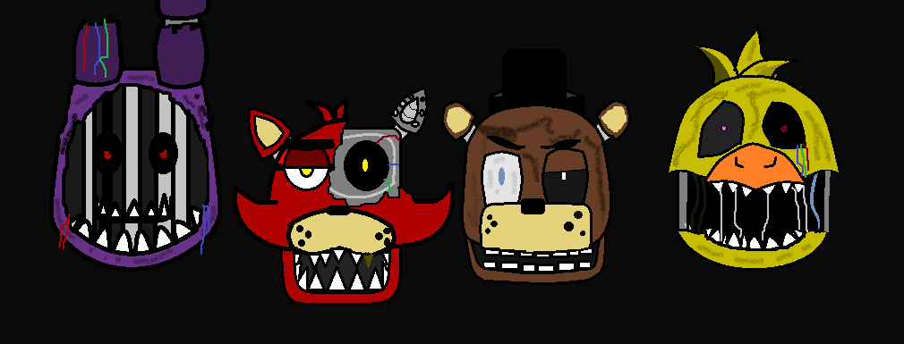Withered animatronics fnaf 2 by lego1202 on deviantart