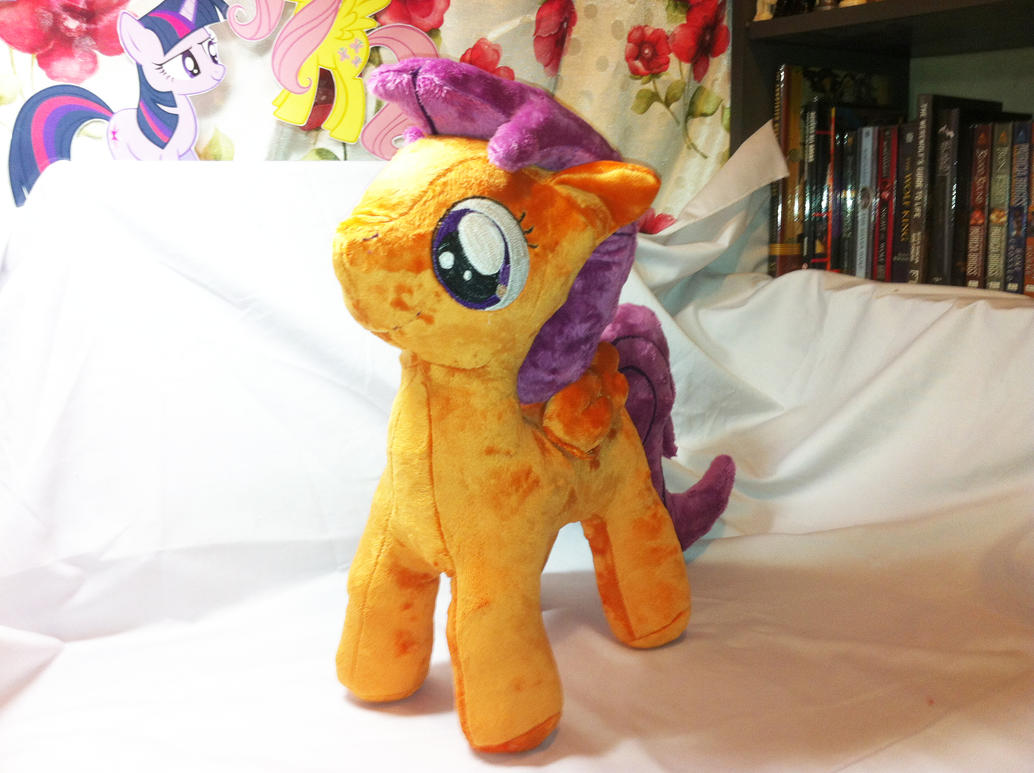 Making Progress of Scootaloo 3 by Kardien