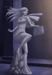 C/HI: Castlevania's Newest Decoration (alternate) by Kyria-Zephyrea