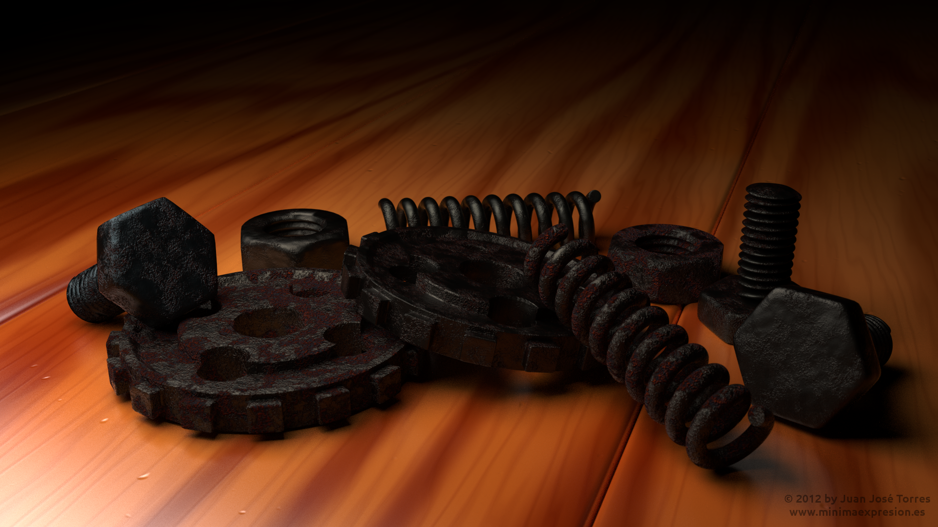 Wood and Rust - Fully Procedural
