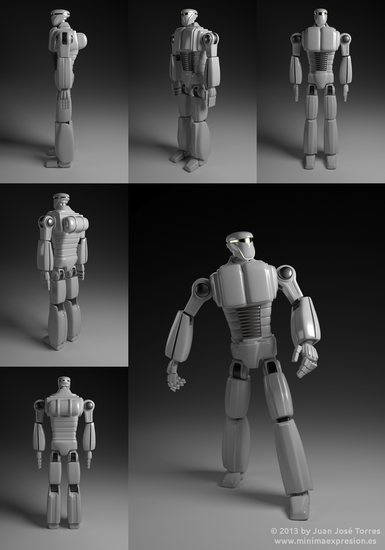 Anatomía de un robot – mínima expresión