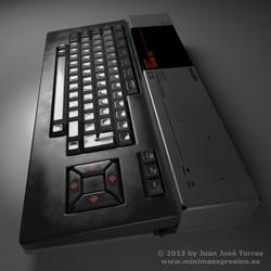 MSX Series - Philips MSX VG-8020 - Side