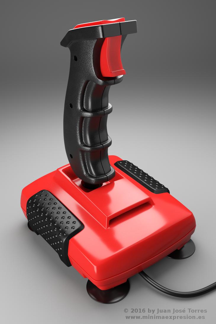 Retro Joystick - Quickshot II Turbo by JuanJoseTorres