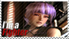 Ayane - I'm a Fighter Stamp by SnowTheWinterKitsune